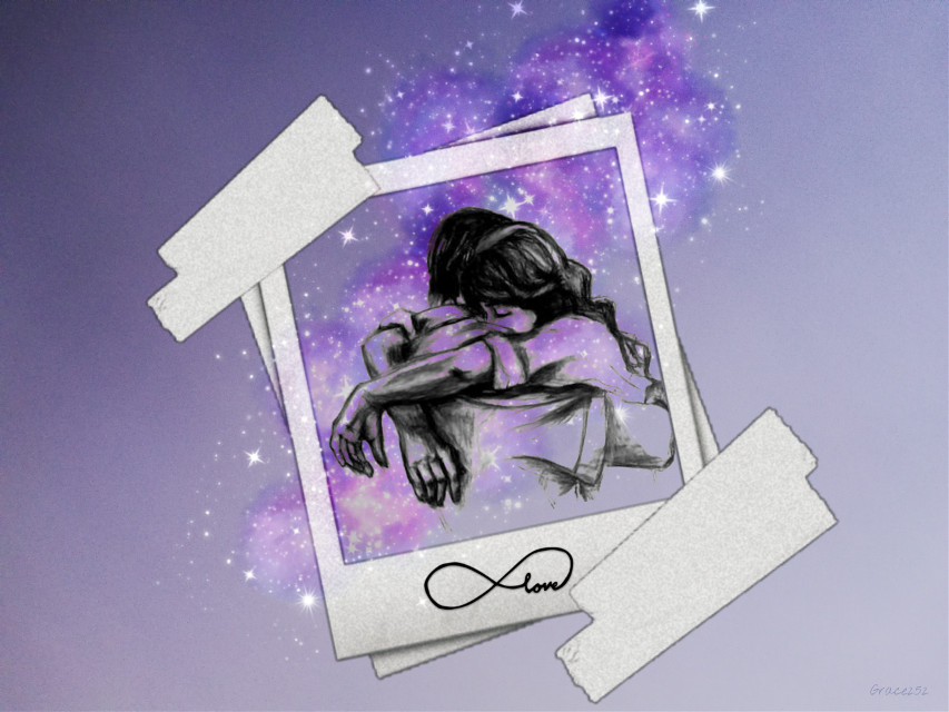 #freetoedit #doubleexposure #polaroid #love #hug #galaxybrush #purple Op @rainbowdust @judit_avogl  @- unactivebengisu
