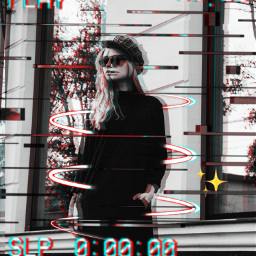 holga2effect girledit women glitch freetoedit