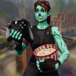 Fortnite Skin Holding Xbox Controller Wallpaper