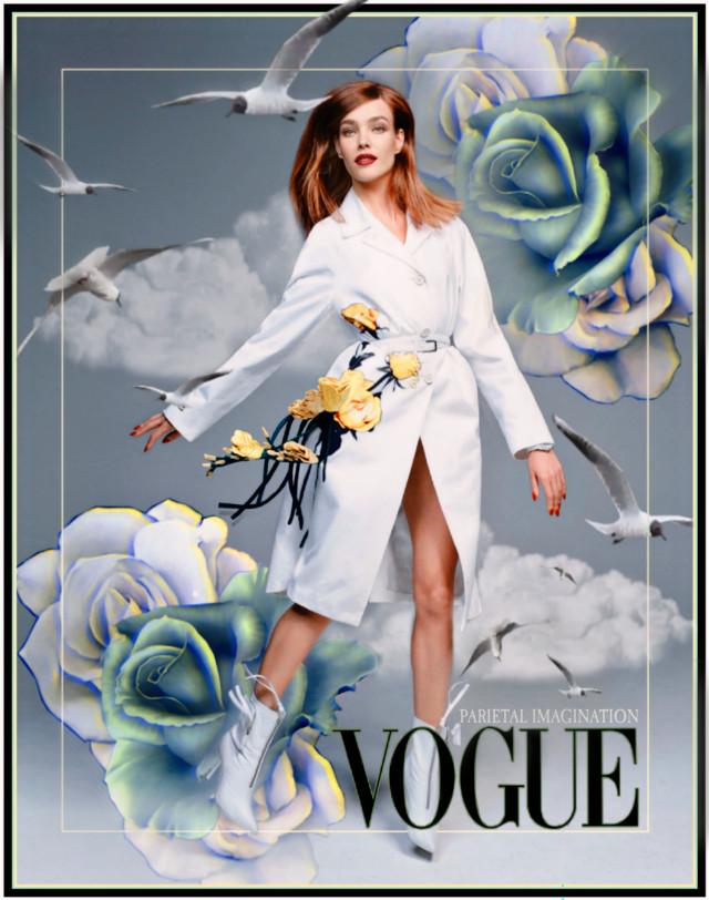 Edit by: Parietal Imagination Art @pa @natasupernova  #vogue #china #magazine #cover #fashion #vip #style #clouds #birds #flowers #vintage #madewithpicsart #parietalimagination #freetoedit  #irccoverofvoguechina #coverofvoguechina