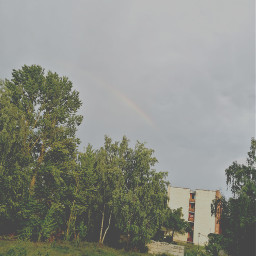 freetoedit rainbow nature weathernature