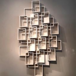 modern geometric cubes