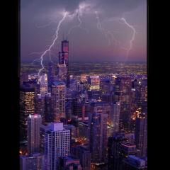 city night storm freetoedit