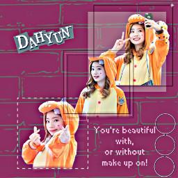 dahyunedit dahyun dahyuntwice twicedahyunedit kpop