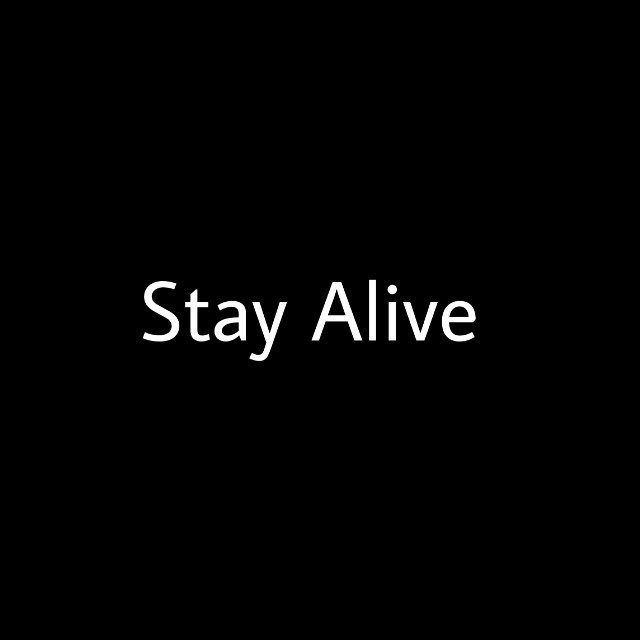 I'm creating a groupchat. This is for a project I'm organising. It's called the Stay Alive Project. There are certain people I want to join aswell as some other fans and I'll explain basically what it is in the gc x  #stayalive