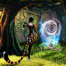 freetoedit fantasyart fantasy makebelieve imagination  cutout- ircgetatattoo