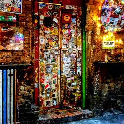 lostplace restroom colorful cityphotography sightseeing