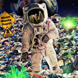 freetoedit ircspacereflection spacereflection trash landfill