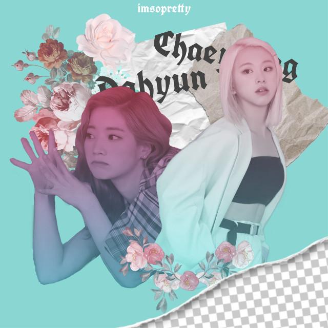 #freetoedit #twice #chaeyoung #dahyun #fancy #fancyyou