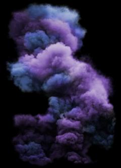 smoke cloud ☁ blue purple freetoedit
