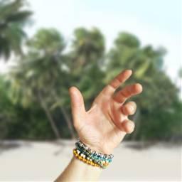 hands summerstyle summer bracelet freetoedit
