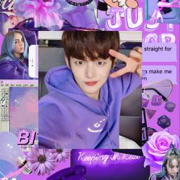 freetoedit yeonjun wallpaper purple txt