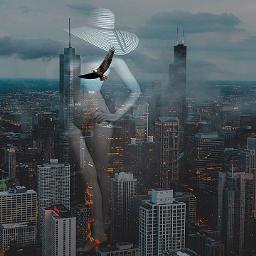 freetoedit chicago doubleexposures