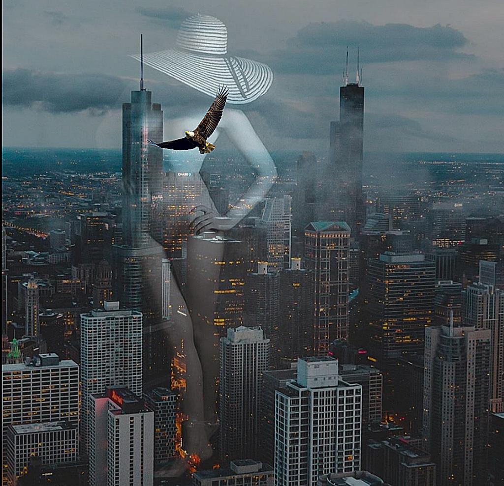 #freetoedit #chicago #doubleexposures