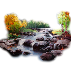 ftestickers nature landscape river trees freetoedit