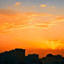 freetoedit sky sunset