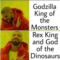 freetoedit rexkingandgodofthedinosaurs godzillakingofthemonsters movies movie