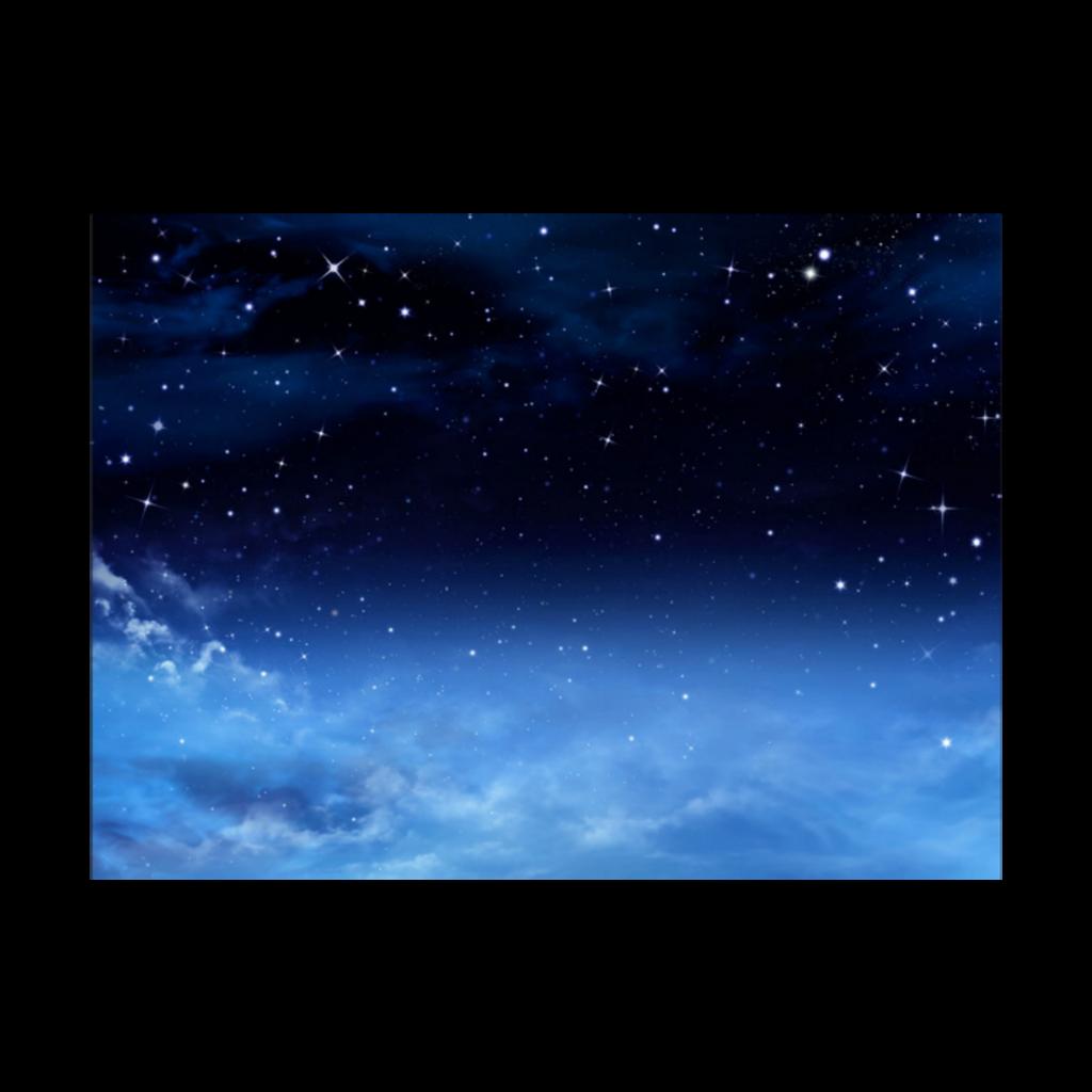 #freetoedit #blue #starry night sky #stars #clouds