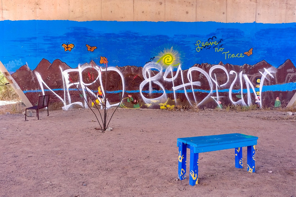 #saltriverpark #nature #downtownphoenix #Phoenix #arizona #urbanexploration #mural #graffiti #freetoedit