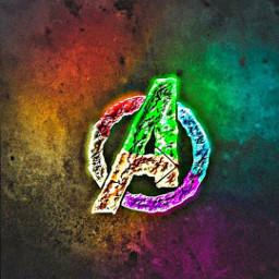 freetoedit avengers avengersendgame multicolor logo
