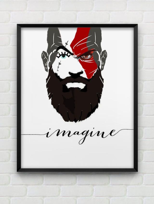 #freetoedit #Kratos #GodOfArt