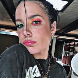freetoedit halsey harleyquinn makeup draw