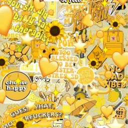 freetoedit yellow yellowaesthetic aesthetic geusswhatmotherfucker