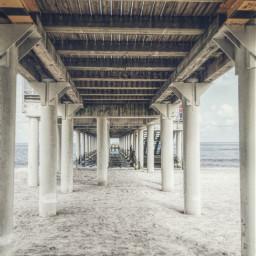 bridge hdr poland seaside bridgephoto