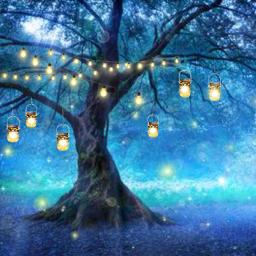 freetoedit fairytree masonjars hanginglights stringlights