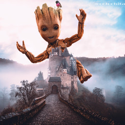 freetoedit manipulation creativeedit surrealismo groot