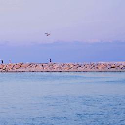 freetoedit outdoorphotography atlanticocean goldenhour people