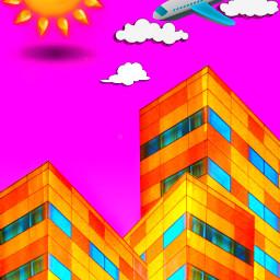 freetoedit buildings highrises architecture cloudsandsky