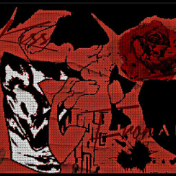 kiss love rose superman art freetoedit