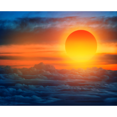ftestickers sky clouds sunlight sunset freetoedit