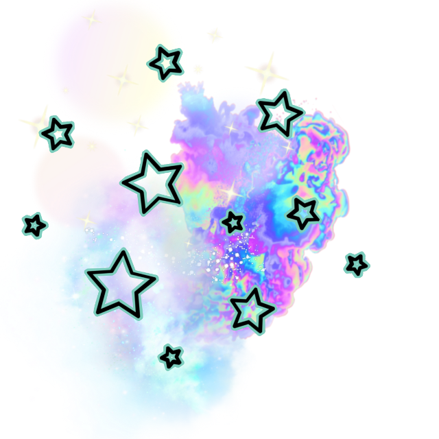 #accent #stars smoke #space #galaxy #decor #decoration #colors #rainbows #colorful #rainbow #galactic #outerspace #addon #add-ons