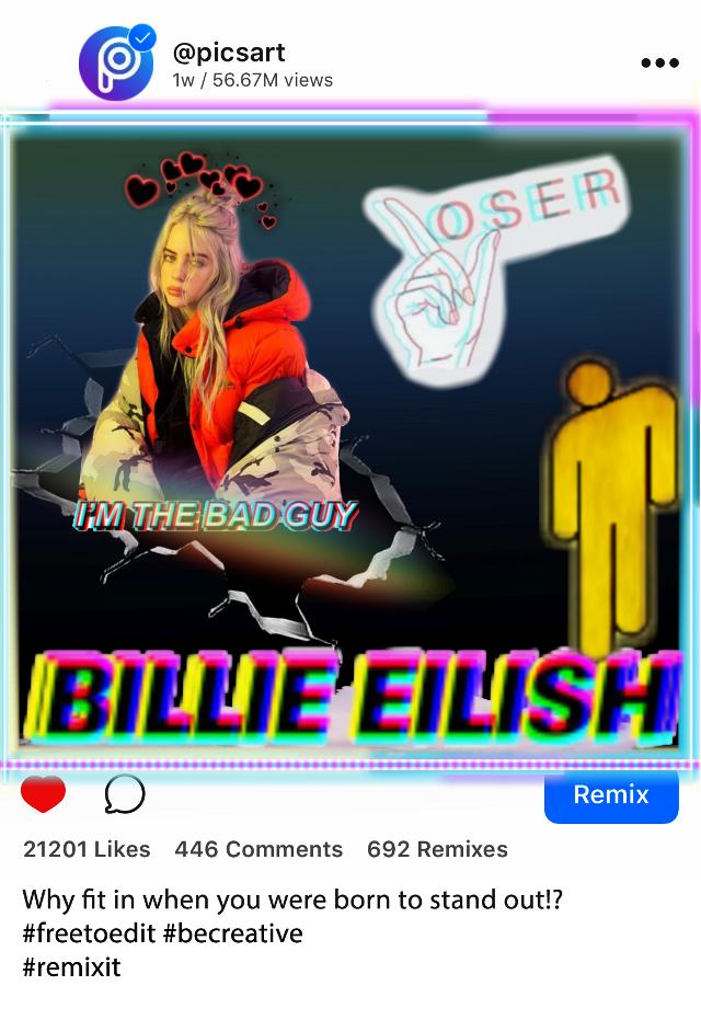 #billieeilish#loser#lover❤