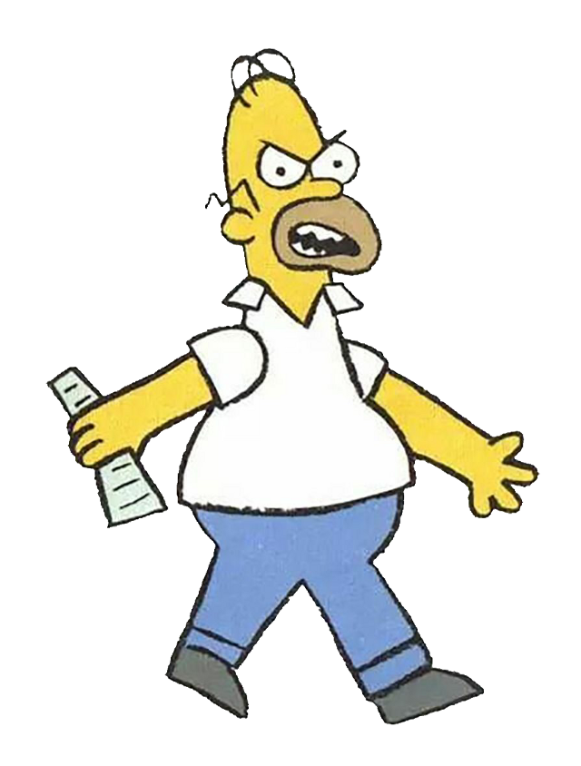 #homersimpson #homer #simpson #thesimpsons #angry #angryhomer