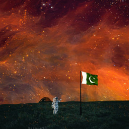 freetoedit independenceday pakistan astronaut space