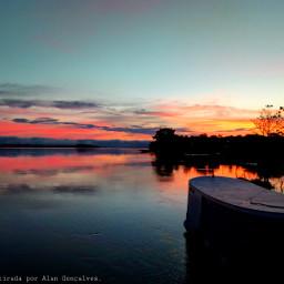 photographynature sunset twilight river boat