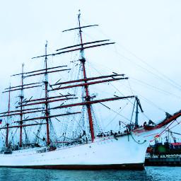 freetoedit ship seaport barque sailboat