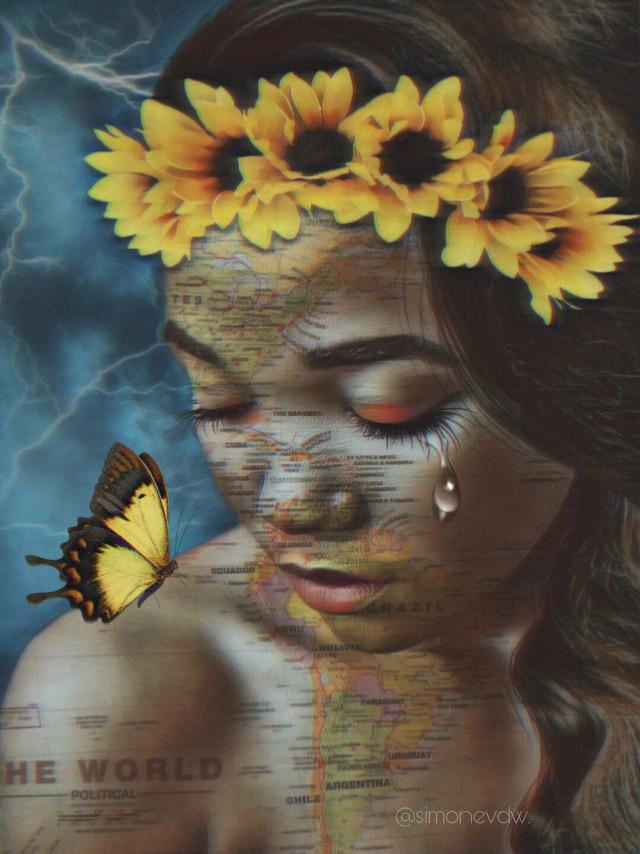 #freetoedit #ircbeautify #editbyme #doubleexposure #shapemask #art #artwork #womanportrait