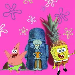 freetoedit spongebob bikinibottom squarepants
