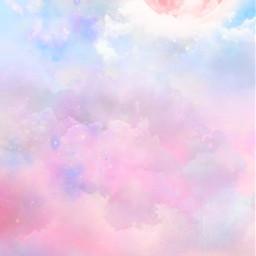 freetoedit nature clouds moon stars