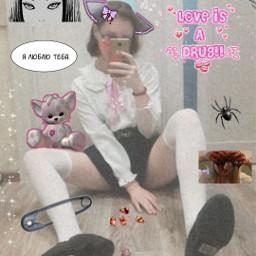 freetoedit anime tyan love toy