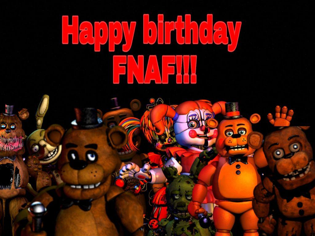 #fnaf #happybirthday