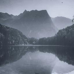 freetoedit water reflection mountains mountain