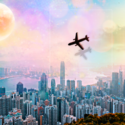 freetoedit city cityview lakeside airplane