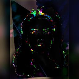 freetoedit lanadelrey glitchbrush squarefit glow