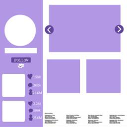freetoedit template templates white purple