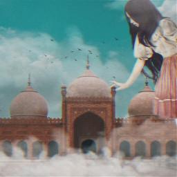 freetoedit imagination surreal india gigant